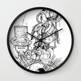 Dimensions of Anger  Wall Clock