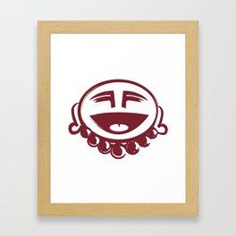Happy Hotei Framed Art Print
