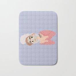 Skincare queen Bath Mat