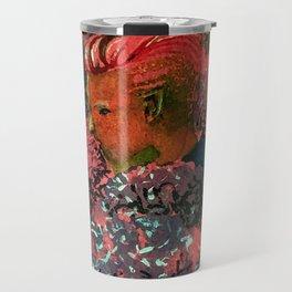 Boy in the Alliums Travel Mug