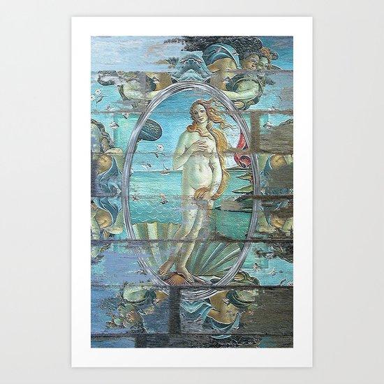 Vintage Venus Art Print