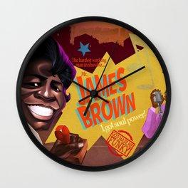 God Made me Funky Wall Clock