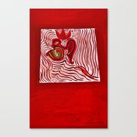 om Canvas Prints featuring om by Loosso