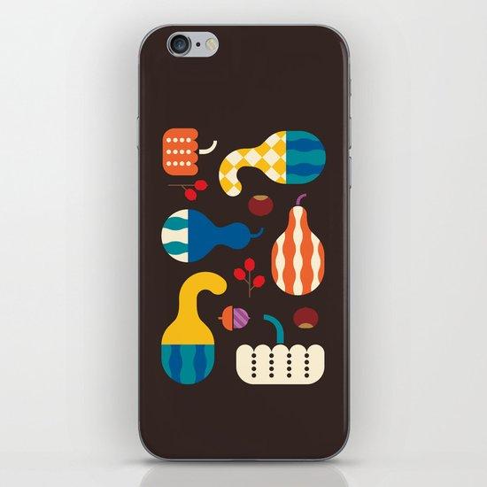 Autumn Gourds iPhone & iPod Skin