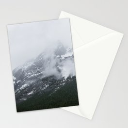 Mountains Landscape Photography | Maligne Lake Alberta Stationery Cards