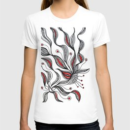 Seaweed Flowerscape T-shirt