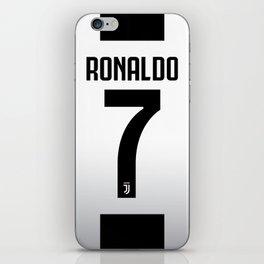 Ronaldo Juventus Jersey iPhone Skin