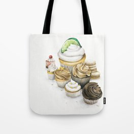 Sweet Energy Cupcakes Tote Bag