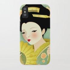 Geisha: Olive Slim Case iPhone X