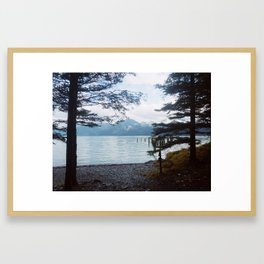 Caines Head - Seward, AK Framed Art Print