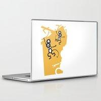 arctic monkeys Laptop & iPad Skins featuring Monkeys by Josè Sala
