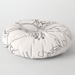 spread hugs Floor Pillow
