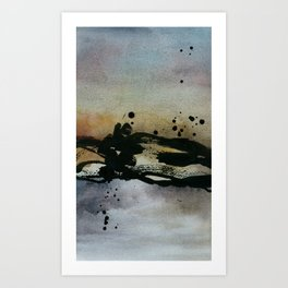 Untitled1- Abstract Watercolour Art Print