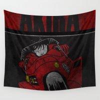 akira Wall Tapestries featuring AKIRA by Zorio