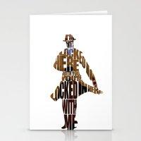 rorschach Stationery Cards featuring Rorschach by A Deniz Akerman