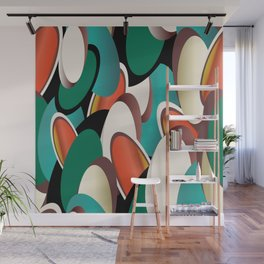 jelly beans allover and over Wall Mural