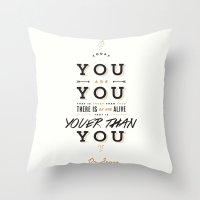 dr seuss Throw Pillows featuring Dr. Seuss by thatfandomshop