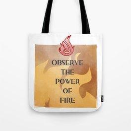 Fire Attunement Tote Bag
