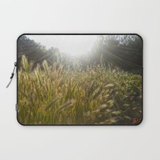 Wheat and poppies Laptop Sleeve