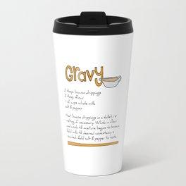 Gravy Recipe Travel Mug