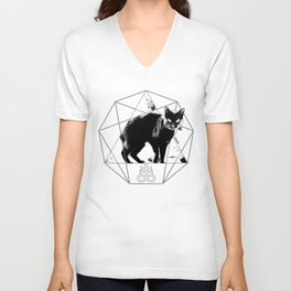 Esoteric - Sulfur Cat Unisex V-Neck