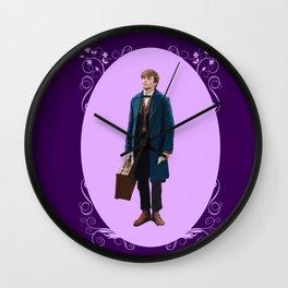 Newt Scamander 4 Wall Clock