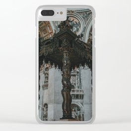 The Baldachin of St. Peter Clear iPhone Case