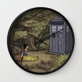 Escape from the Dark Forest Wall Clock
