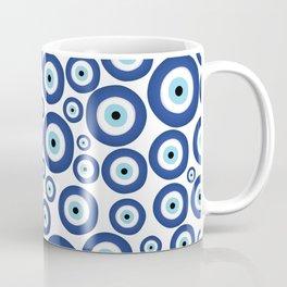 Greek Mati Mataki - Matiasma Evil Eye Pattern #1 Coffee Mug