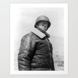 George Patton Art Print