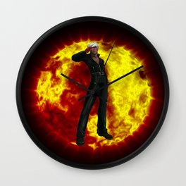 King of Fighters K 2 Wall Clock