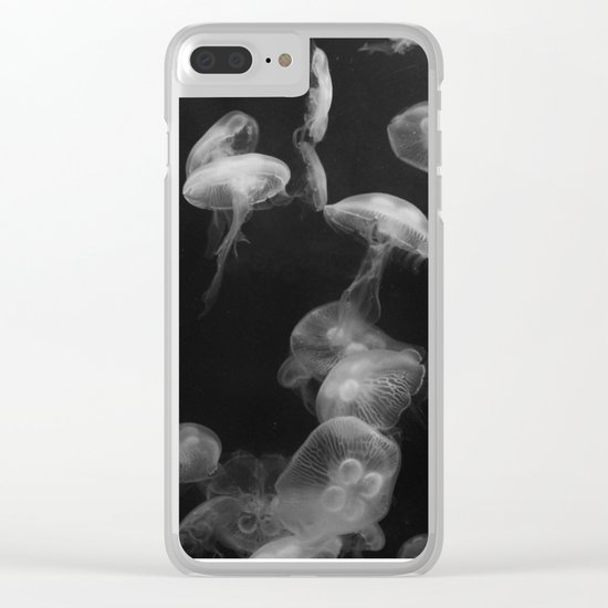 Jellyfishes Clear iPhone Case