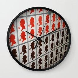 sherLOCKED Wall Clock