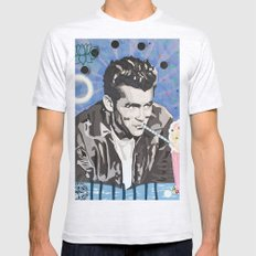 Marilyn vs James D Ash Grey SMALL Mens Fitted Tee