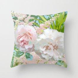 Jardin de Marie Throw Pillow