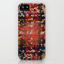 follow the blue road iPhone Case