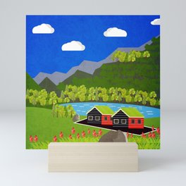 Norway 1 Mini Art Print