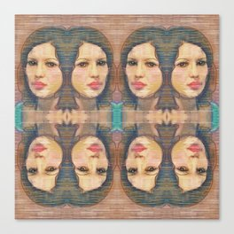 Face This Canvas Print