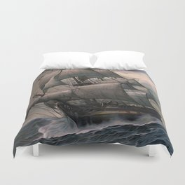 Black Sails Duvet Cover