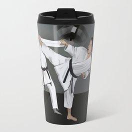 Karate Corky Travel Mug