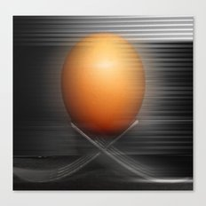 Egg on the move Canvas Print