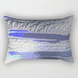 Frozen Lake Rectangular Pillow