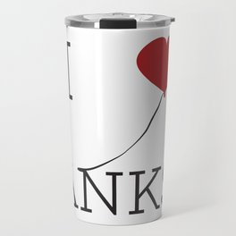 I heart Banksy Travel Mug