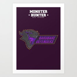 Monster Hunter All Stars - BD Art Print