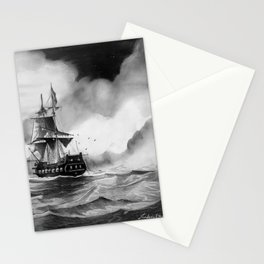 Pirates battle Stationery Cards