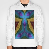 totem Hoodies featuring Totem by RingWaveArt