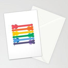Mr. Pecker Pride Flag Stationery Cards