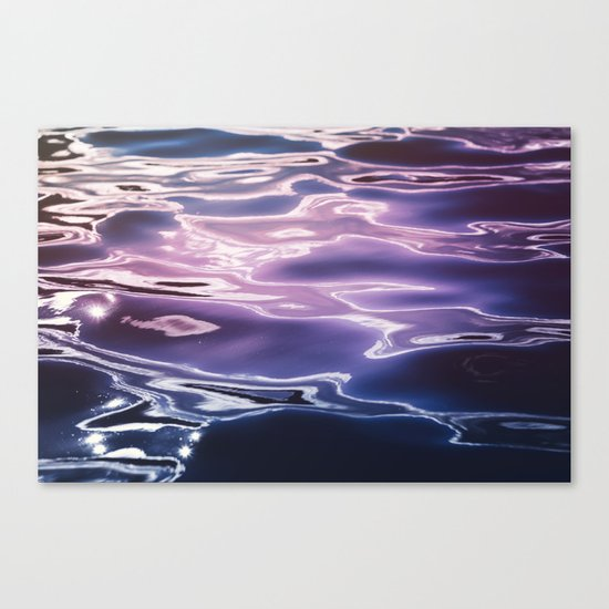 Fluid summer Canvas Print