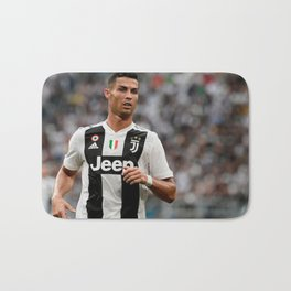 Cristian Ronaldo 7 Bath Mat