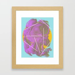 I Don't Want To Wait | Abstract Art Framed Art Print